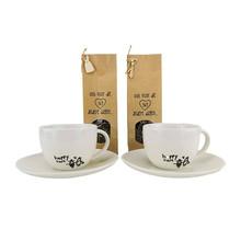 Theeset vtwonen kop en schotel incl. thee