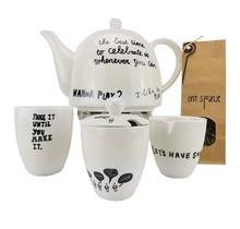 Tea set vtwonen milk and sugar incl. Tea