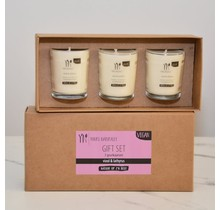 Gift set scented candles Violin & Lathyrus