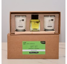Gift set candles and scented sticks Hop & Herbs