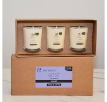 Gift set of scented candles Lavender
