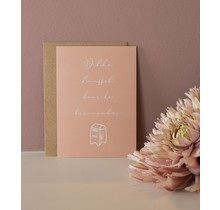 Card Big kiss through the letterbox