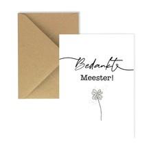 Card Thank you master