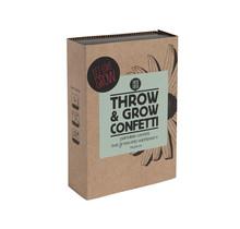 Throw and Grow confetti - let love grow