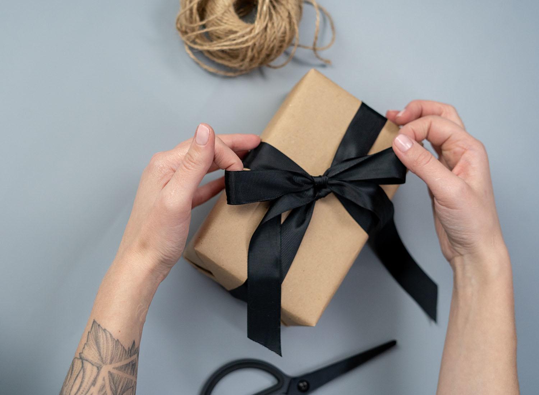 Waarom een cadeau inpakken?