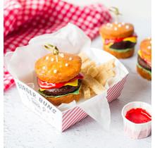 Hamburger Cupcake Kit