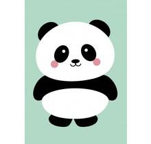 Kaart Panda Mint