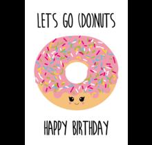 Kaart Let's Go Donuts