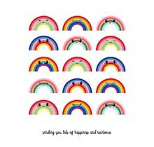 Card Sending Rainbows