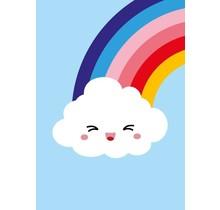 Kaart Wolk Regenboog