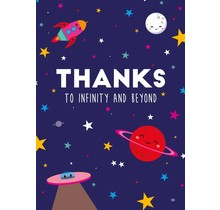 Card Thanks to Infinity