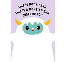 Card Monster Hug