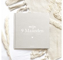 Mijn 9 Maanden Invulboek Linnen Zand