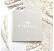 My 9 Months Fill-in Book Linen Sand