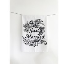 Just Married Theedoek