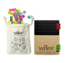 WAFF Mini Combo notitieboek Zwart