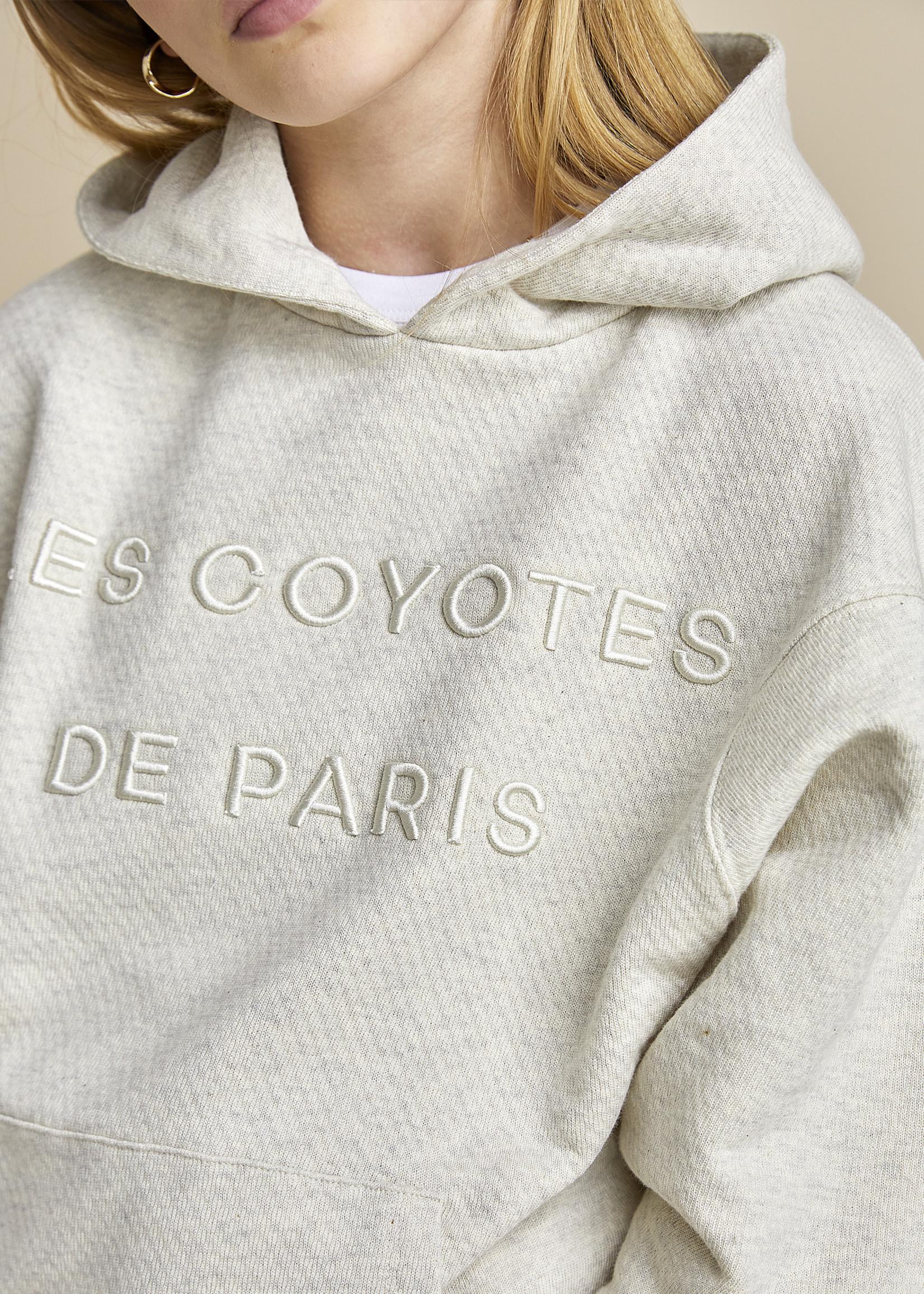 LES COYOTES DE PARIS SWEATER BOAZ CREAM MELANGE