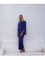 DORELIT PYJAMA ELLY/ALKES  CHECK BLUE