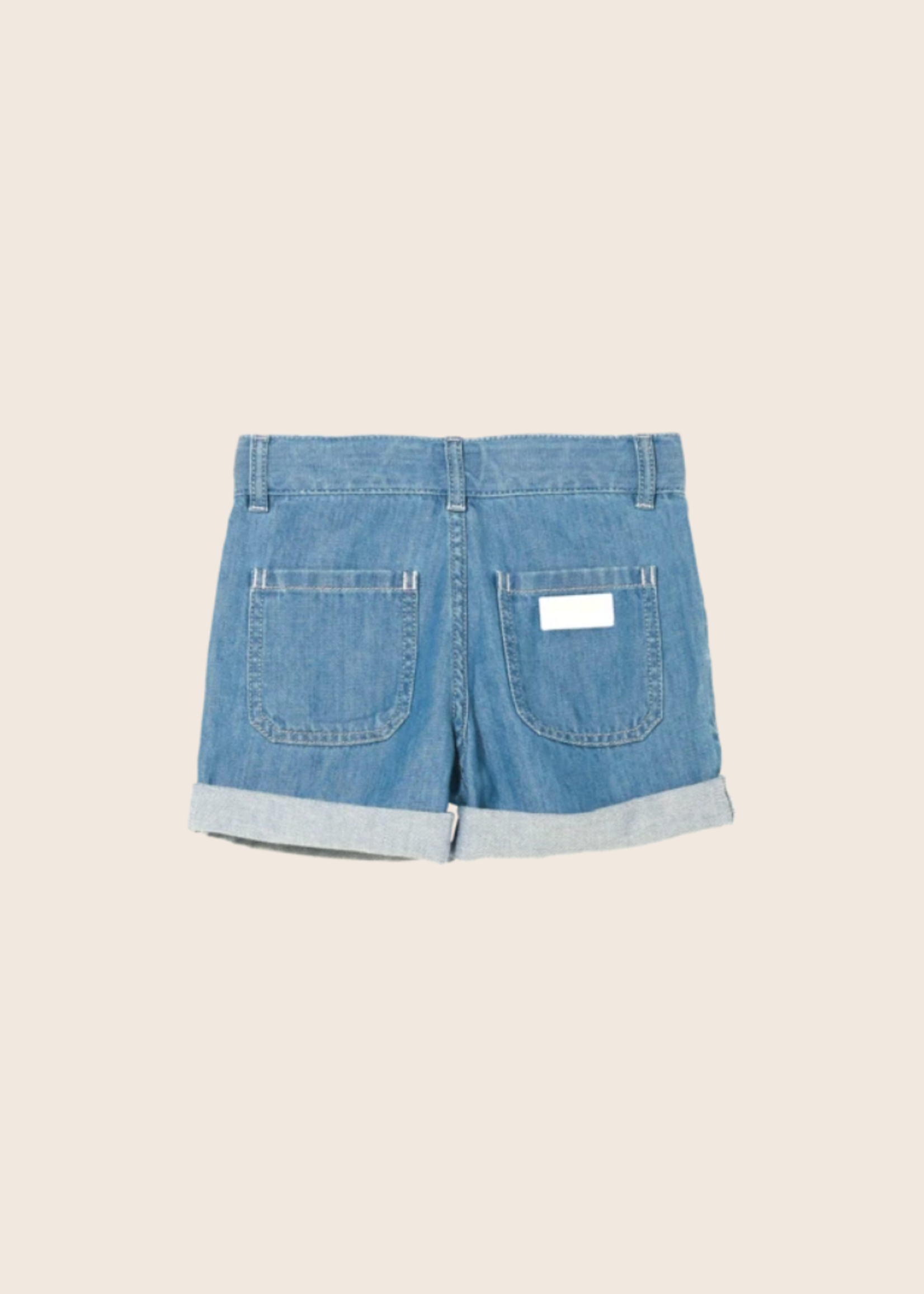 FINGER IN THE NOSE MARLIE Bleached Blue - Loose Fit Shorts