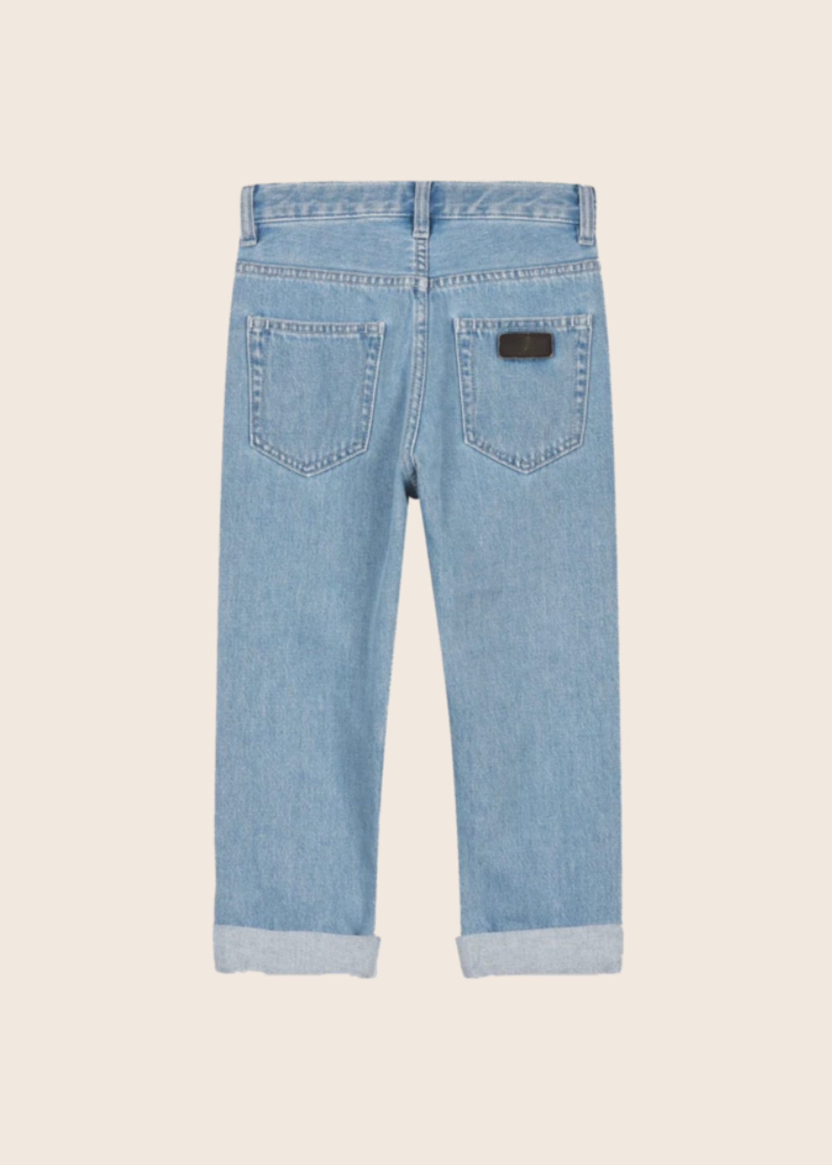 FINGER IN THE NOSE OLLIBIS Bleached Blue - 5 Pockets Tapered Fit Jeans