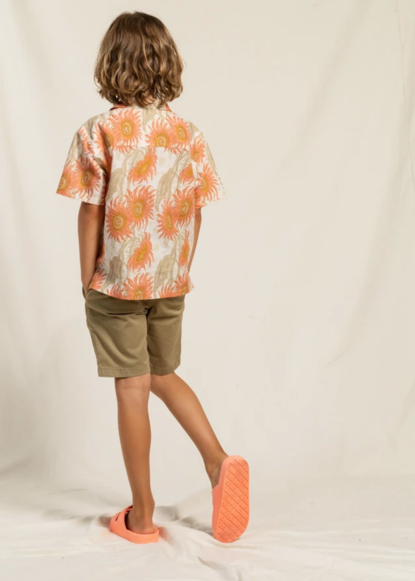 FINGER IN THE NOSE ALLEN Linen - Chino Fit Bermuda Shorts