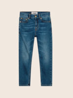 FINGER IN THE NOSE EWAN Authentic Blue - 5 Pockets Comfort Fit Jeans