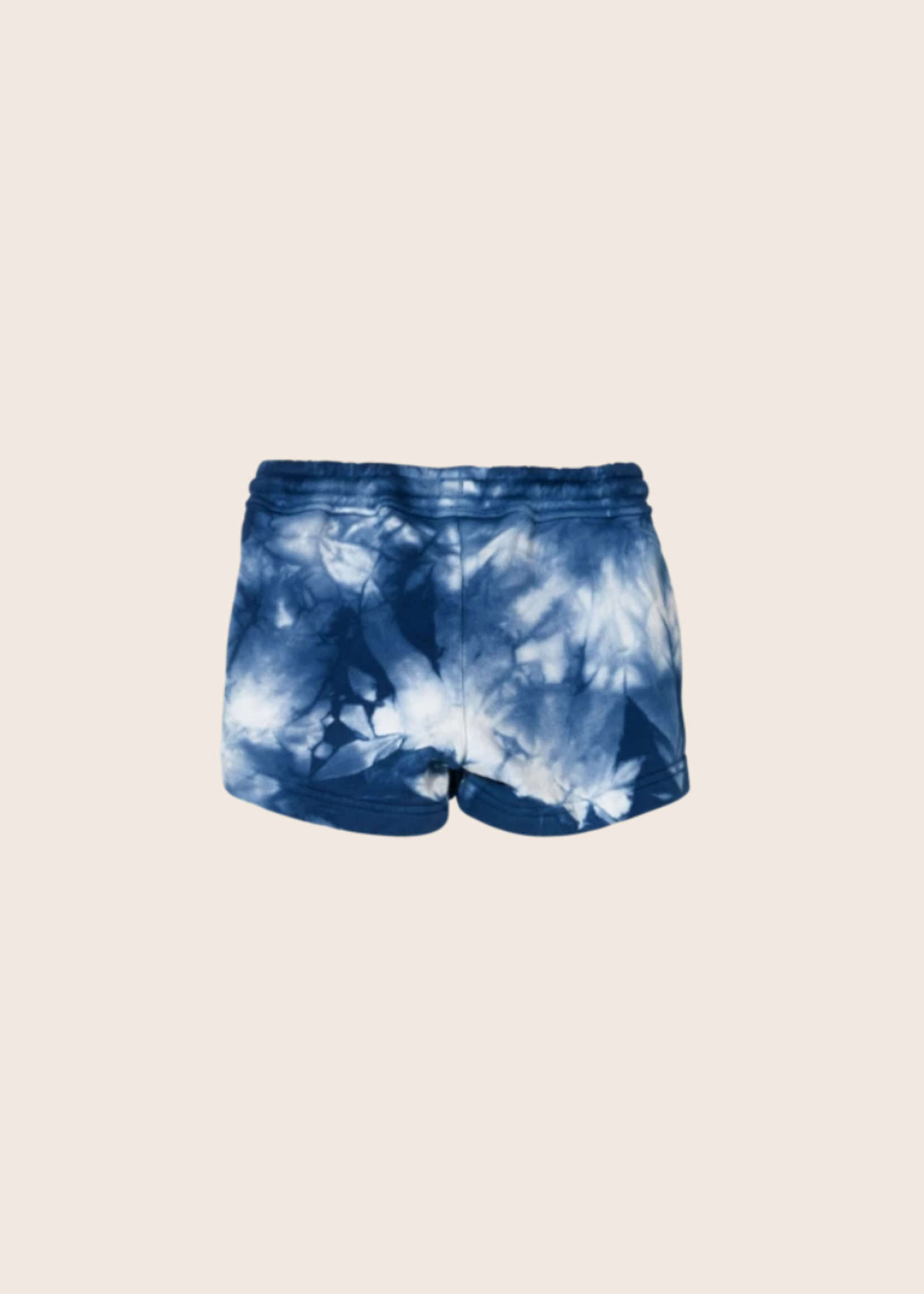 FINGER IN THE NOSE TRINITY Work Blue Tie & Dye - Elasticated Shorts