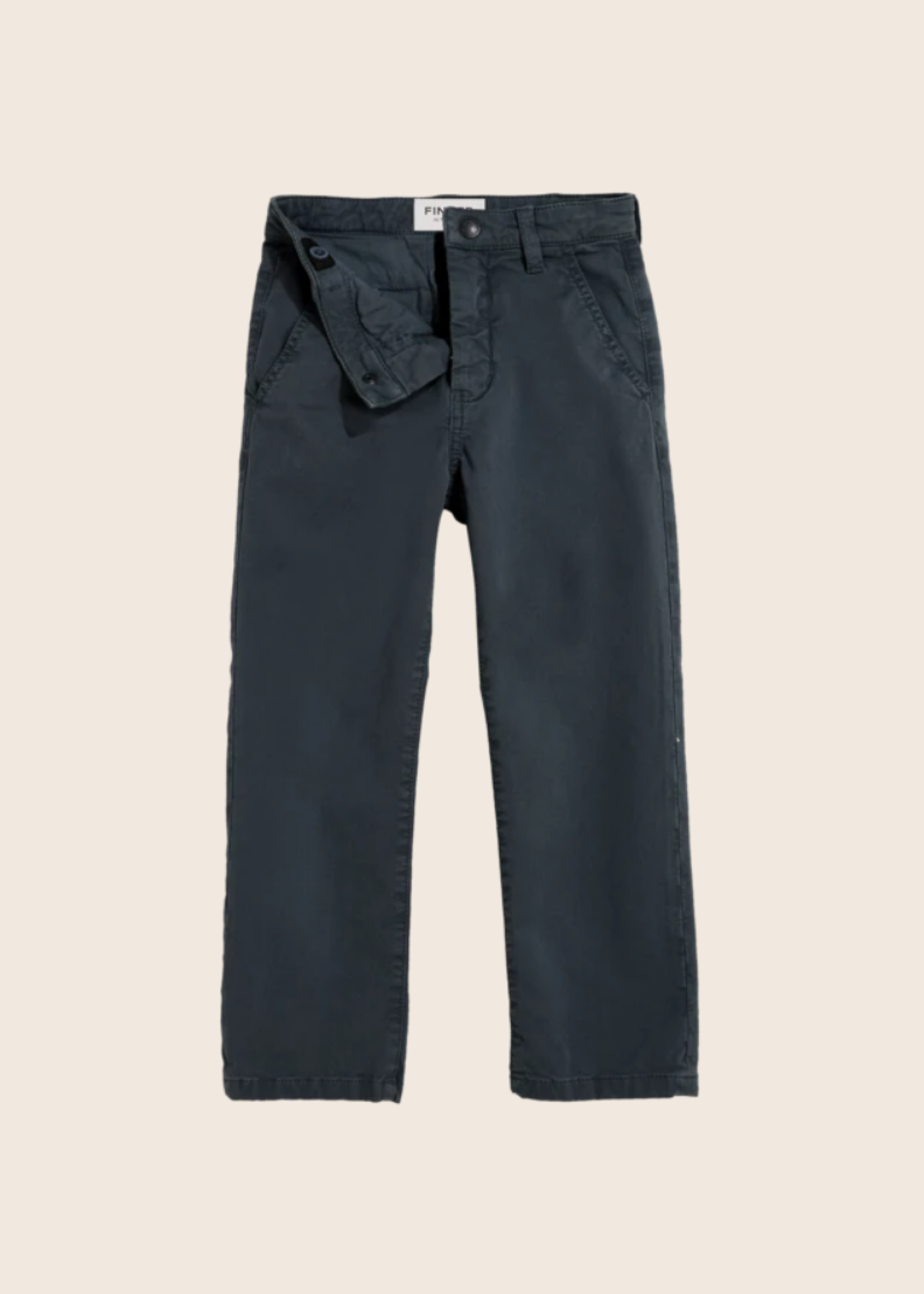 FINGER IN THE NOSE PORTMAN Ash Black - Chino Fit Pants