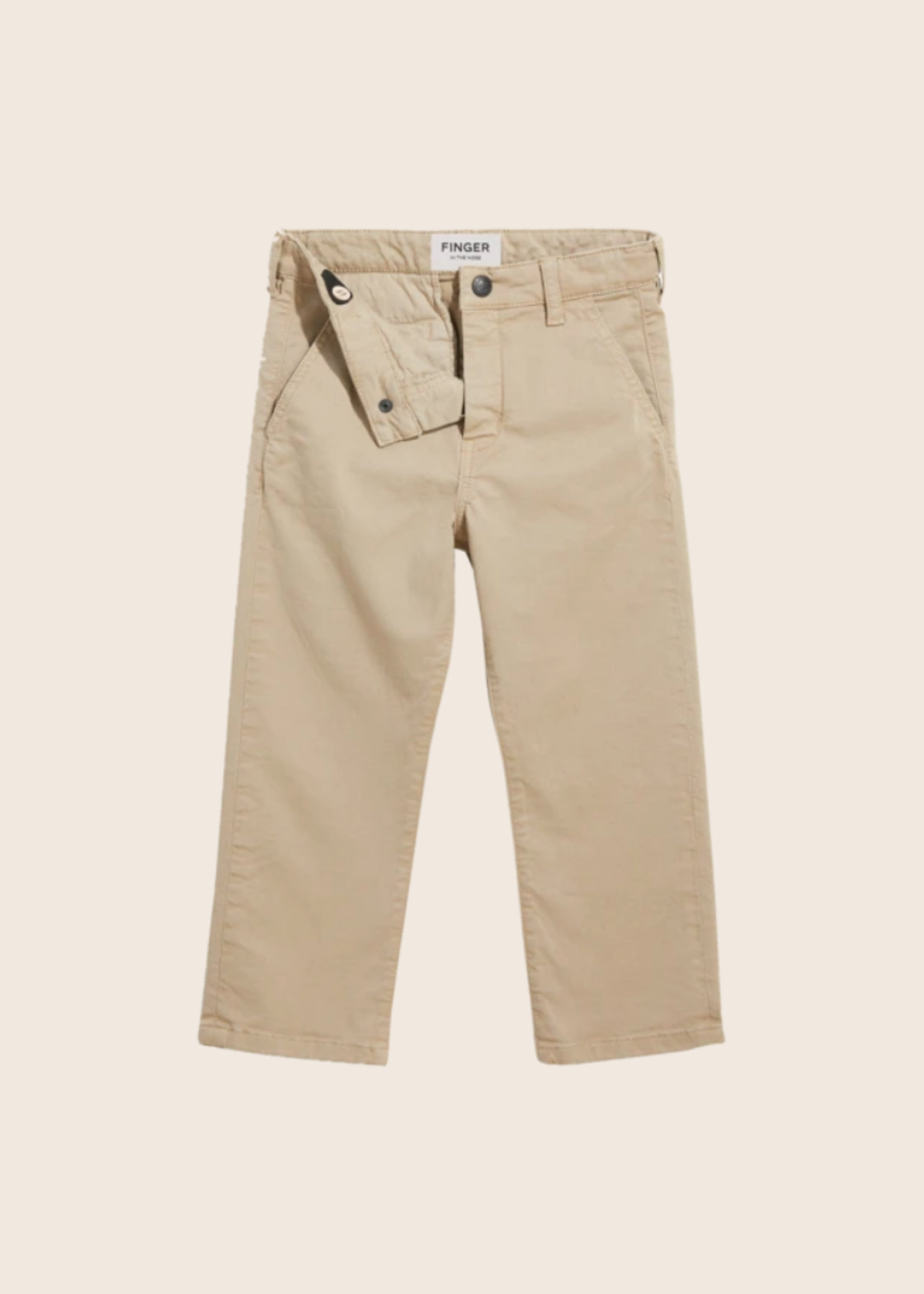 FINGER IN THE NOSE PORTMAN Sand - Chino Fit Pants