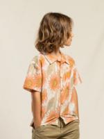FINGER IN THE NOSE CHUCK Caramel Sunflower - Short Sleeve Shirt