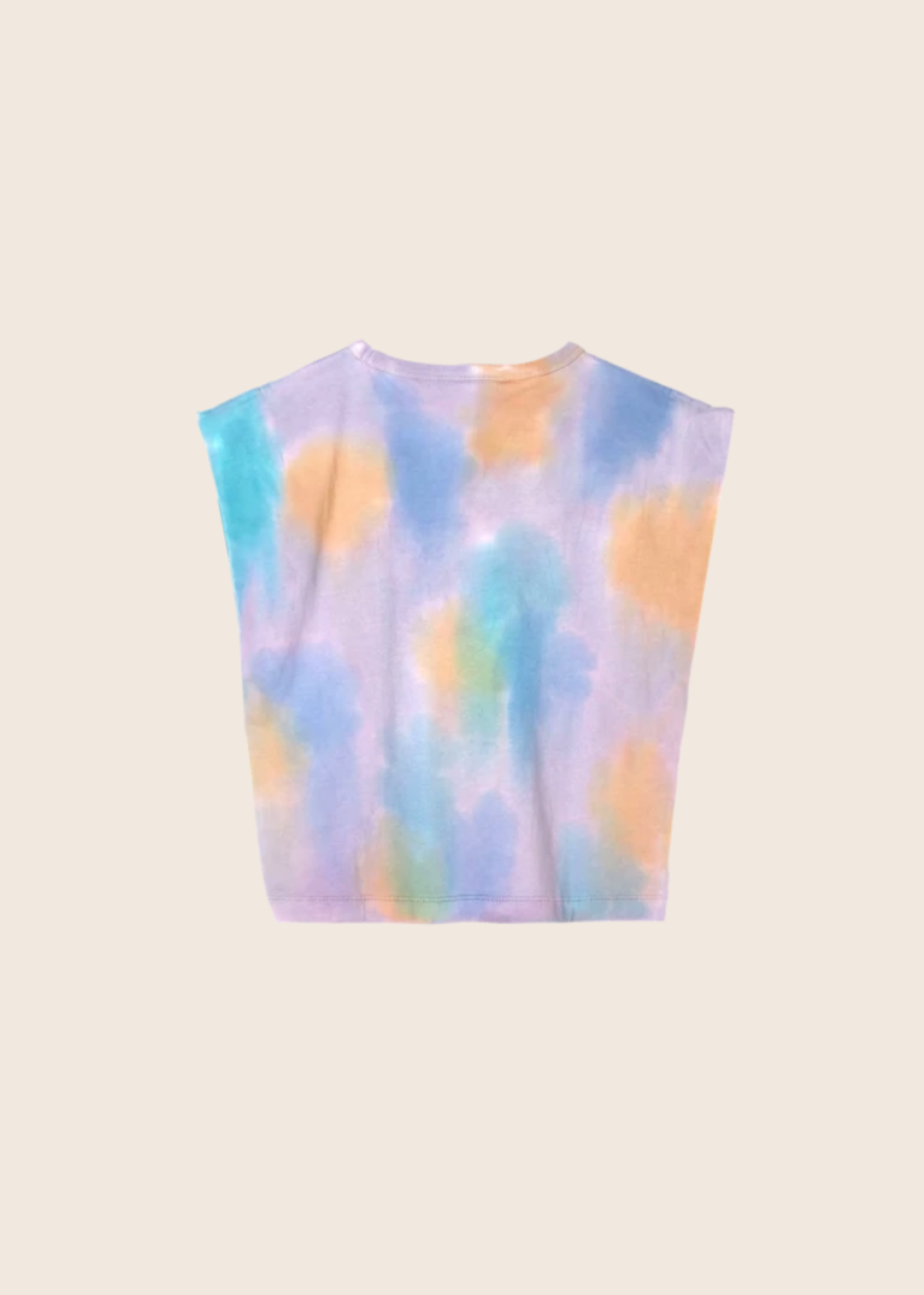 FINGER IN THE NOSE HALEY Rainbow Tie & Dye - Sleeveless T Shirt