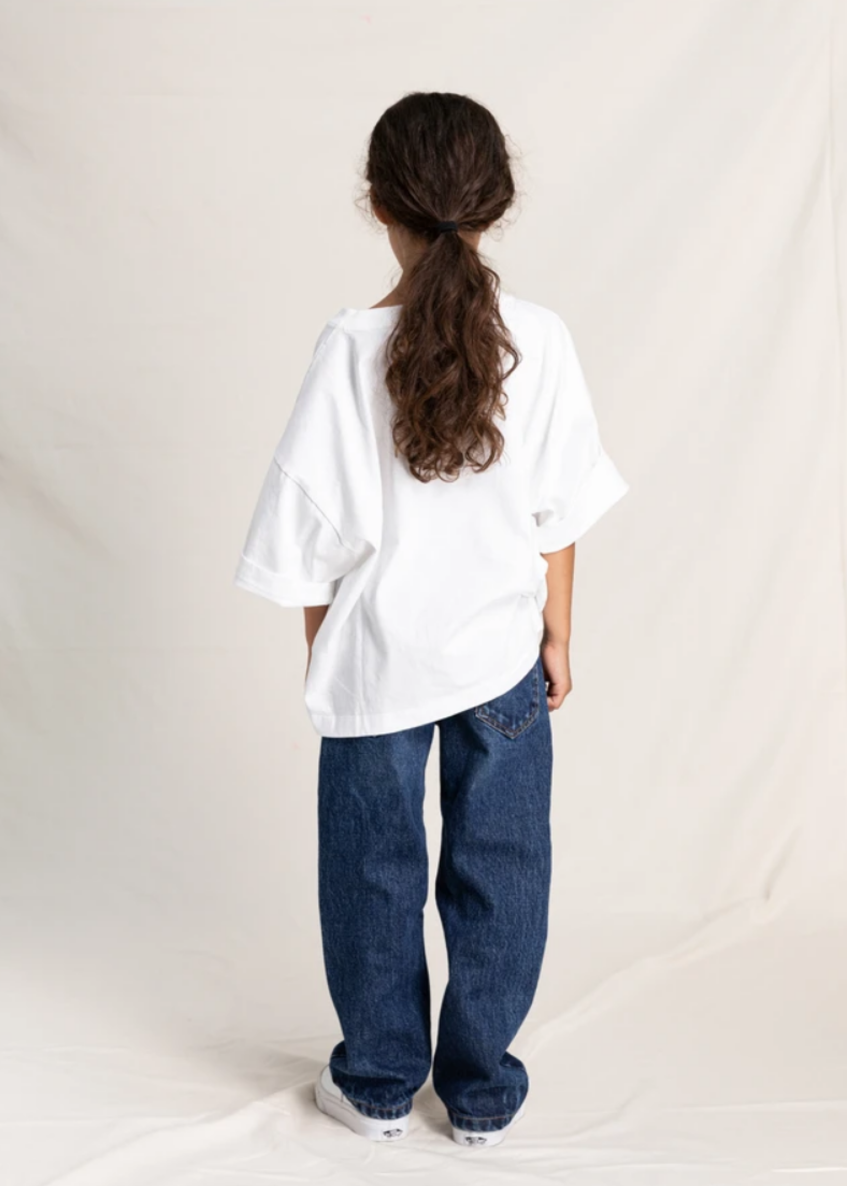 FINGER IN THE NOSE AUSTIN Medium Blue - 5 Pockets Loose Fit Jeans