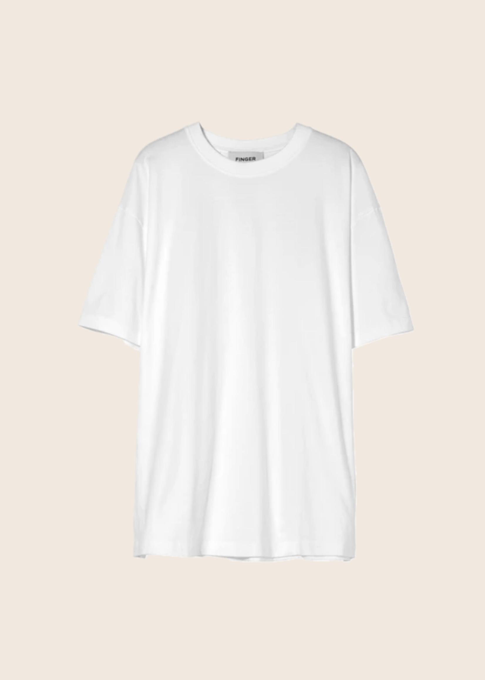 FINGER IN THE NOSE SC 003 White - Sleeveless Shirt