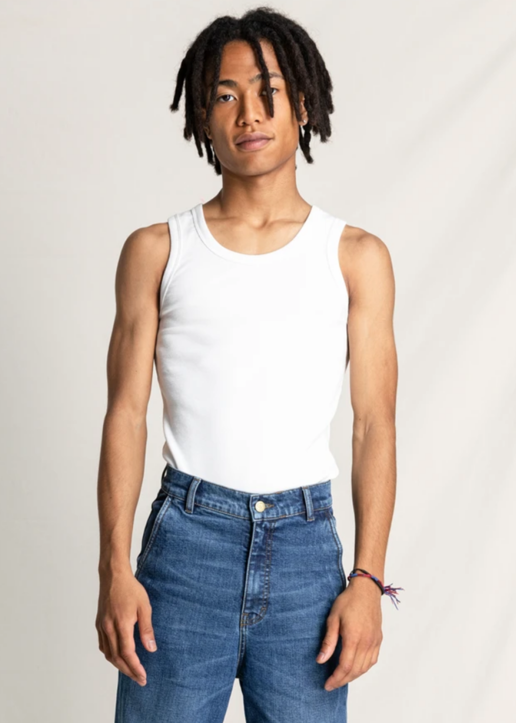 FINGER IN THE NOSE SC 004 White - Tank Top