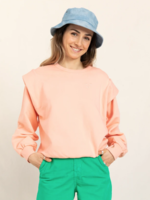 FINGER IN THE NOSE CARLY Peach - Rounded Effect Sweater