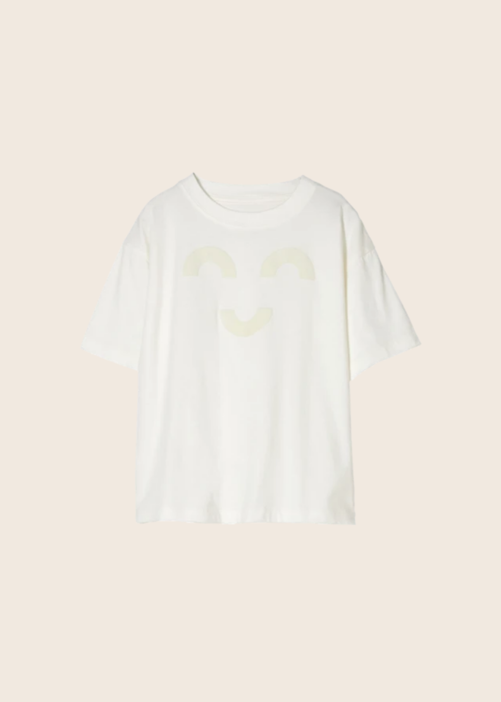 FINGER IN THE NOSE KING Off White Macaroni - Short Sleeves T Shirt Boy / Knitted