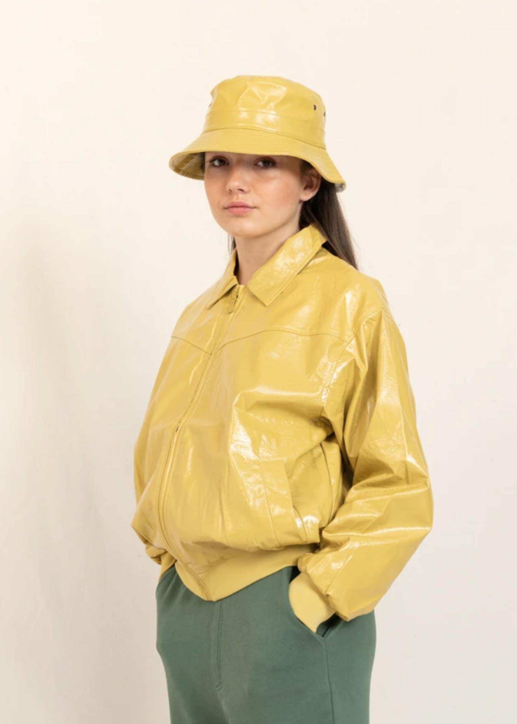 FINGER IN THE NOSE TWINNY Mustard - Harrington Jacket