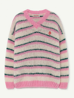 THE ANIMAL OBSERVATORY TAO SWEATER STRIPES TOUCAN 186CE
