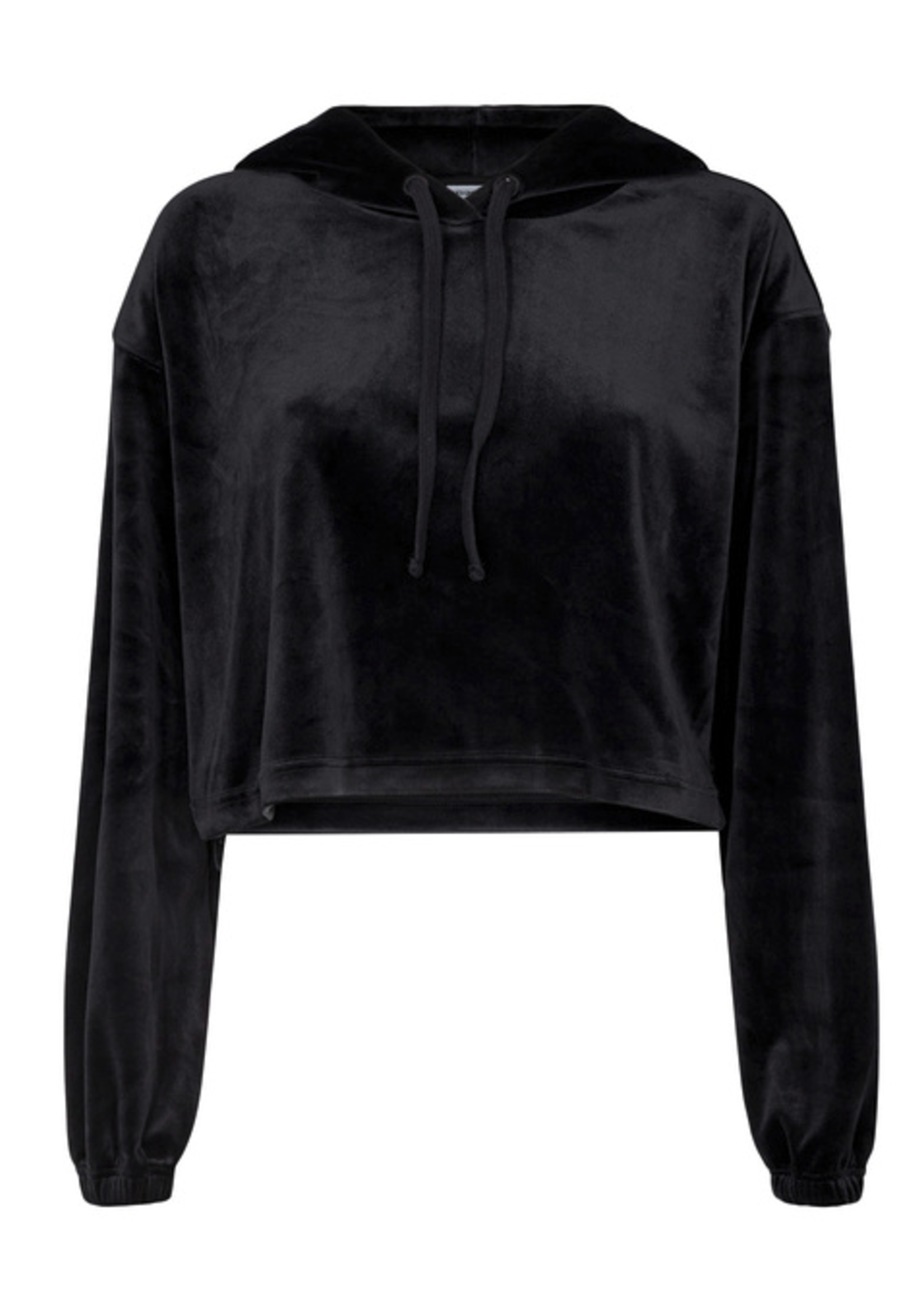 DESIGNERS REMIX DR SWEATER FRANCES CROPPED HOODIE