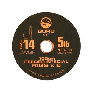 Guru 100cm feeder special rigs