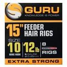 "Guru 15"" feeder hair rig extra strong"