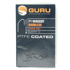 Guru F1 Maggot barbless spade end