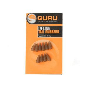 Guru In-line tail rubbers