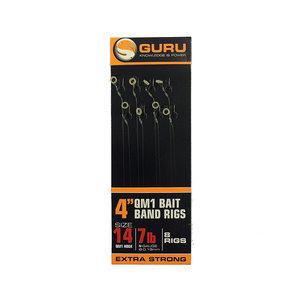 "Guru 4"" QM1 bait band rigs"