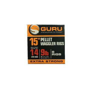 "Guru 15"" pellet waggler rigs"
