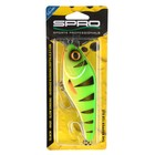 Spro The Rapper 128SLS 12.cm 49gr slow sinking 0.3-1m diep