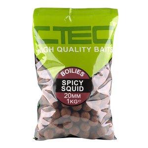 CTEC Spicy squid boilies 20mm