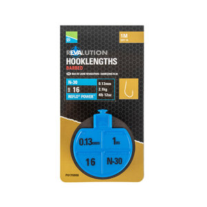 Preston Innovations N30 revalution hooklenghts