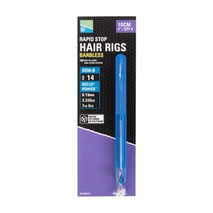 Preston Innovations KKM-M mag store rapid stop hair rigs 4""