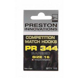 Preston Innovations PR344 competition match hooks size 12